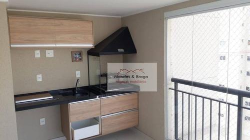 Imagem 1 de 27 de Cidade Maia Apartamento Com 2 Dormitórios À Venda, 56 M² Por R$ 515.000 - Jardim Flor Da Montanha - Guarulhos/sp - Ap1925