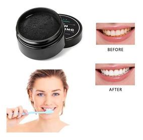 Clareador Dental 100% Carvão Ativado O Melhor + Escova
