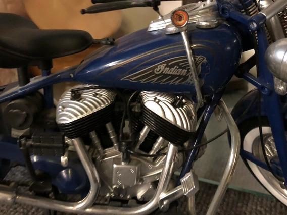 Miniatura Moto Indian - Escala 1:6 (gigante = 40cm) Raridade