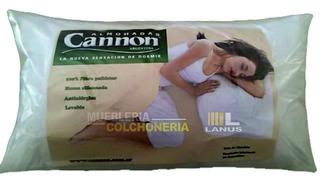 Almohada Cannon Vellón 70x40 Algodón Lavable Antialérgica