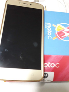 Motorola C Plus Dourado 16gb