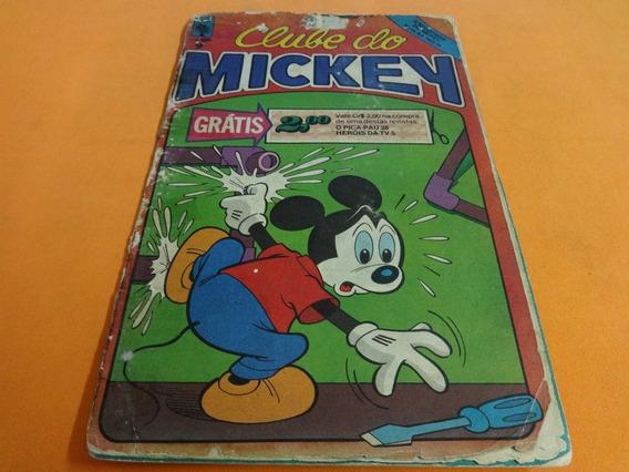 Revista Em Quadrinhos Clube Do Mickey Numero 9
