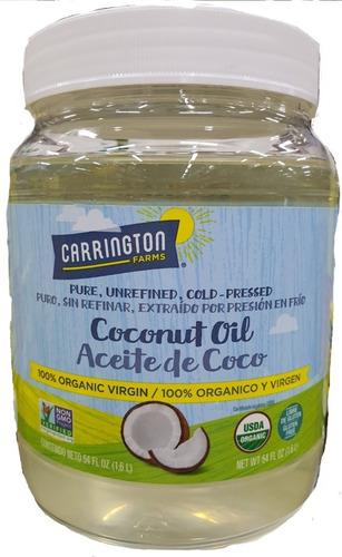 Aceite De Coco Carrington Farms Nueva - L a $49000