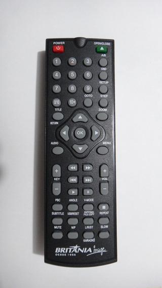 Controle Remoto Britania Dvd Sv Vcd Game Brg150 V.i 715853