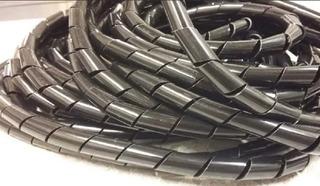 Cinta Para Cables Helicoidal Sybyd 15mm X 10mts
