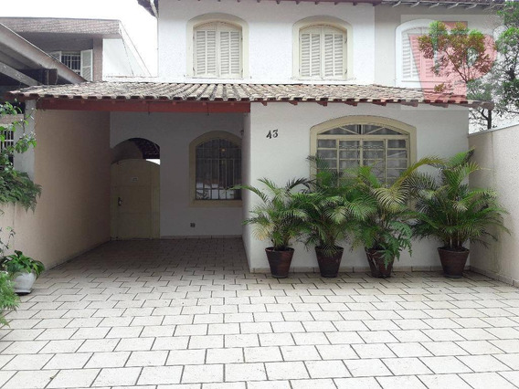 Sobrado Residencial À Venda, Vila Santa Clara, São Paulo - So1371. - So1371