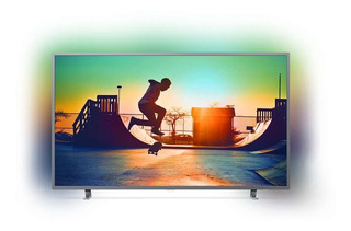 Smart Tv 4k Uhd 55 Philips Ambilight 55pug6703/77 Netflix