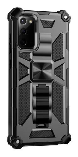 Carcasa Military Standing Galaxy Note 20 Ultra Negro
