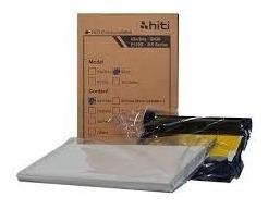 Kit De Impressão Para Impressora Hiti S420/ Papel E Ribbon