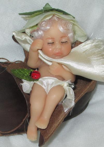 Promoção A Lenda Da Fada Bebê No Sapatinho De Couro Polymer