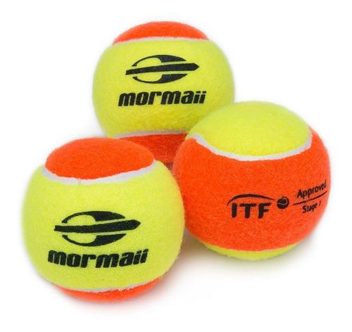 Bola De Beach Tennis Mormaii - Pack Com 3 Unidades