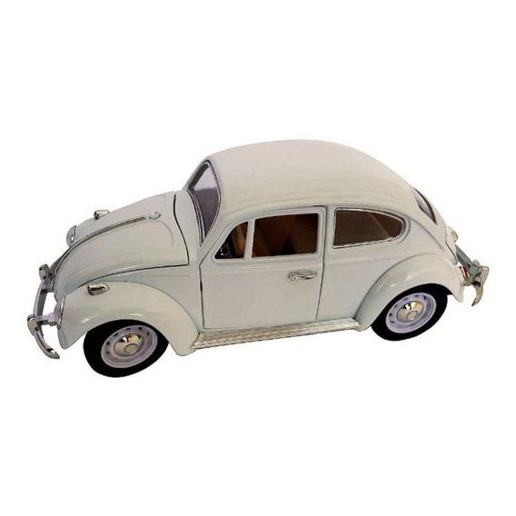Volkswagen Fusca Escala 1:18 Die Cast Branco
