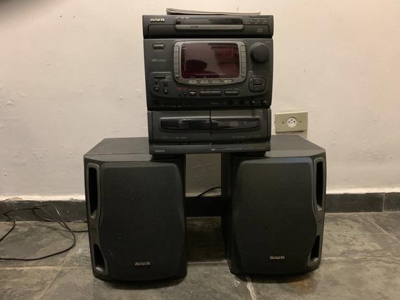 Som Aiwa Nsx 2200 Sound System Cd