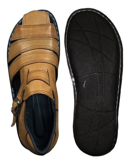 Sandalia Cuero Hombre - Excelente Calidad - Lopez Calzados