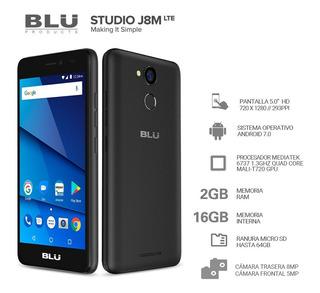 Blu J8m - 16g Cam 8 - Tela 5 - 2g Ram Impressão Digital Top