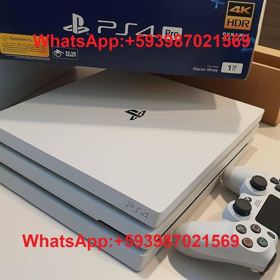 Playstation 4 Pro 1tb Viene Con 2 Controles Y 5 Juegos Grati