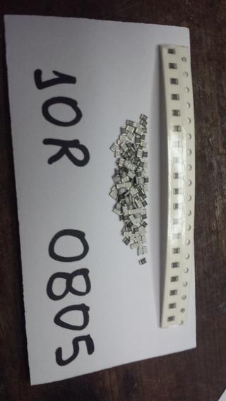 Lote 200 Resistores 10r Smd 0805 Taramps ,banda ,stetsom