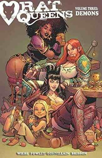 Rat Queens Volume 3 : Demons Kurtis J. Wiebe , By (artist)