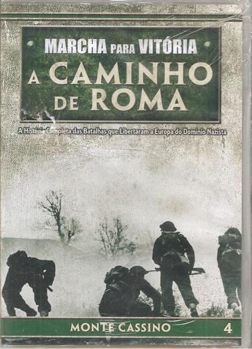 Dvd Marcha Para Vitória, A Caminho De Roma 4 - Monte Cassino