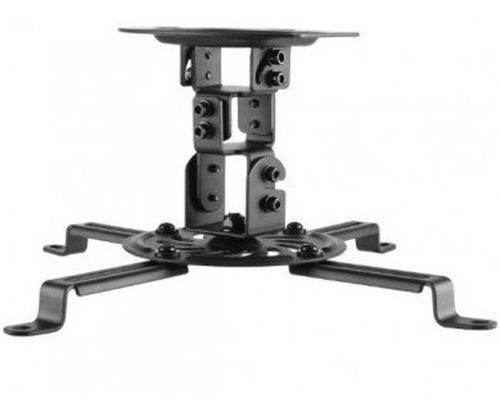 Imagen 1 de 4 de Soporte Universal De Techo Para Video Proyector 15cm Base Para Cañon Giratorio 360 Grados E Inclinacion
