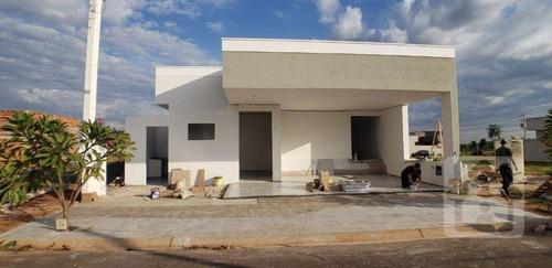 Imagem 1 de 18 de Casa Com 3 Dormitórios À Venda, 172 M² Por R$ 600.000,00 - Condomínio Vila Madalena - Araçatuba/sp - Ca1126