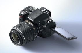 Câmera Nikon D5100 + Lente Nikon 18-135mm (usada)