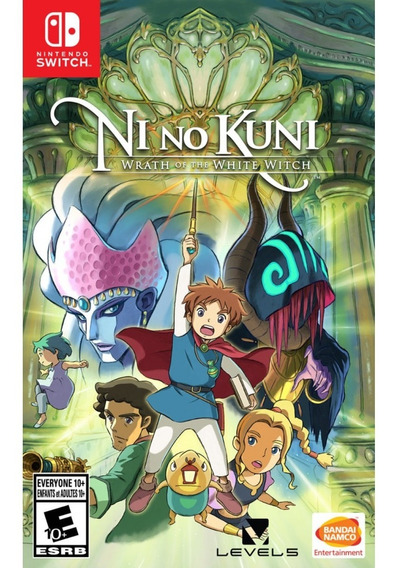 Ni No Kuni Wrath Of The White Witch Remastered Switch Físico