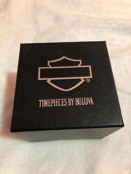 Relógio Bulova Harley Davidson Ref:wh30055t