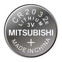 Bateria Cr 2032e Lithium 3v Mitsubishi