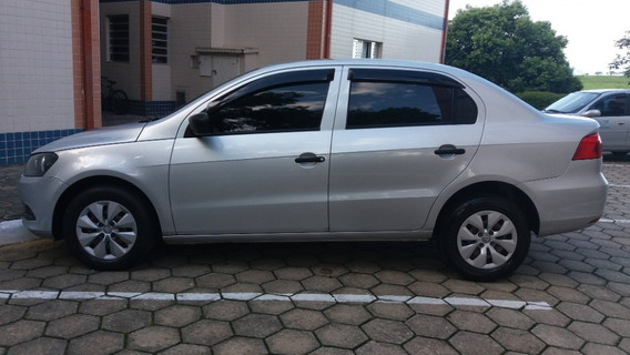 Vw/voyage City Ma S 2015 De Cor Prata, Carro Familiar