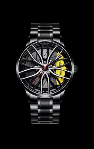 Relógio Masculino Nibosi - Design Roda - Esportivo / Casual