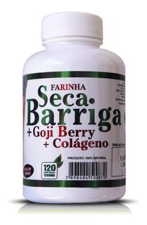 Seca Barriga Mais Goji Berry E Colágeno 500mg 120cps