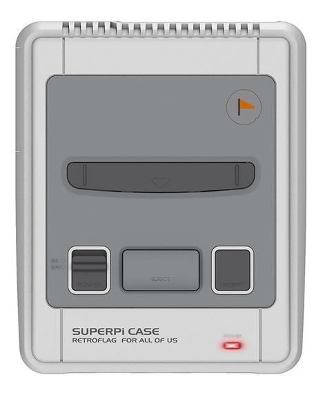 Estojo Retroflag Superpi Para Placa Raspberry Pi 3b+ 2b 3b