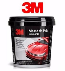3m Massa De Polir Diamante Base Agua (nova Massa 3m)