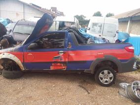 Sucata Fiat Strada 2015 Flex 1.4 Fire Retirada De Peças