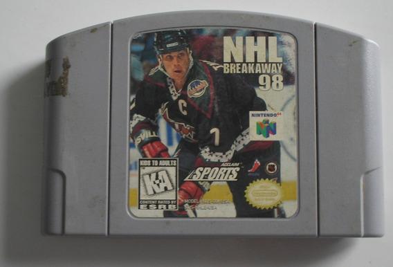 Nhl Breakaway 98 Nintendo 64 Original Usada
