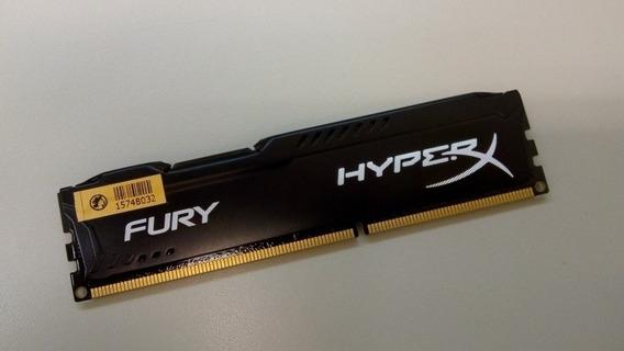 Memória Ram Ddr3 Hyperx 4 Gigas 1600 Mhz