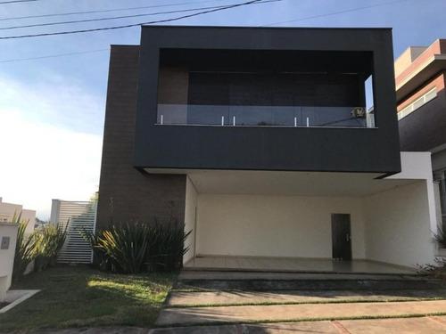 Sobrado Com 3 Dormitórios À Venda, 371 M² Por R$ 1.600.000 - Condomínio Residencial Giverny - Sorocaba/sp, Próximo Ao Shopping Iguatemi. - So0110 - 67640767