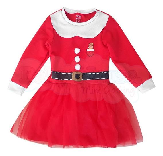 Vestido Santa De 3 Meses A 6 Años
