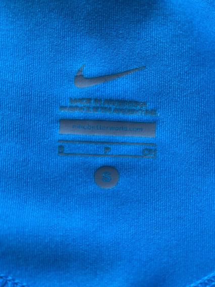Calza Nike Talle S Turquesa