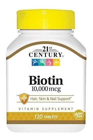 Biotina 120 Tabletas (10000mcg)