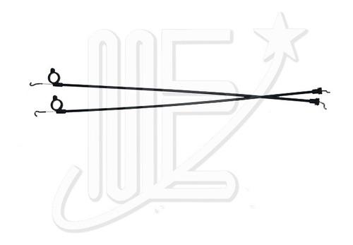Cable Apertura Puerta Trasera Derecha Gol Iii (4p)