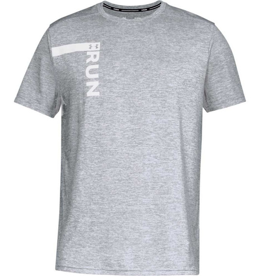 Remera Under Armour Running Run Tall Graphic Hombre