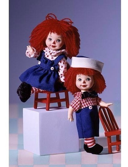 Barbie Collector Kelly E Tommy Raggedy Ann & Andy