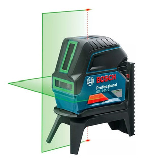 Nivel Láser De Líneas Combinado Bosch Gcl 2-15g + Bm3 *verde