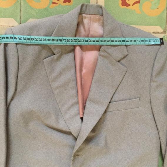 Saco Para Caballero Hombre Gris Medio Uso Elegante