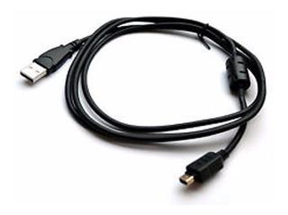 Cable Usb P/ Camar Nikon Canon, Sony Alpha, Lumix, Olympus