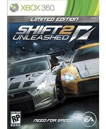 Need For Speed Shift 2 Xbox 360 Em Mídia Física Original