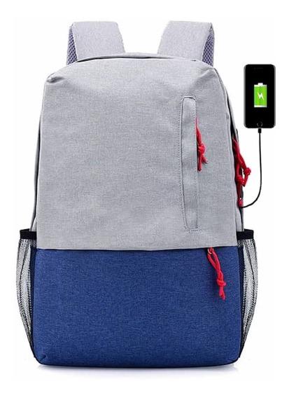 Mochilas Escolares Juveniles Unisex Multi Usos Porta Laptop