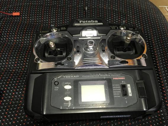 Rádio Futaba Aeromodelismo -t6exap Pcm1024 - Frete Grátis